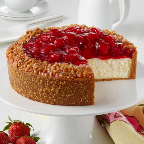 Strawberry cheesecake de Junior's